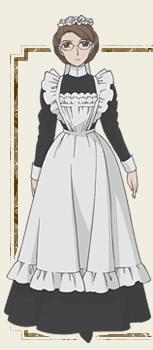 メイド服を着てオナニー->画像>13枚